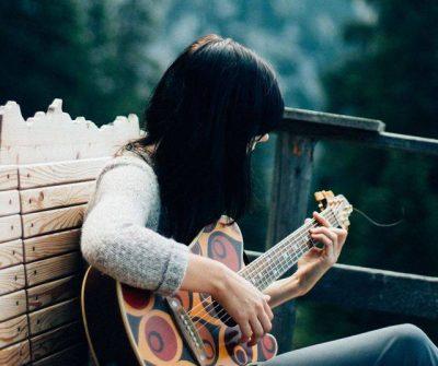 Die lettische Singer – Songwriterin Baiba Dēķena Quelle: Initiative Minderheiten Tirol