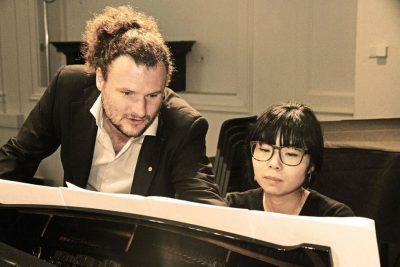 Christian Reimeir während einer Probe am Konservatorium in Innsbruck. www.schusterschitz-foto.com