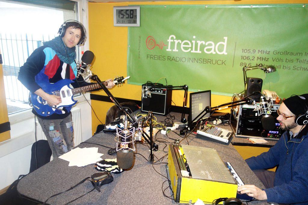 Peter Piek im FREIRAD Studio